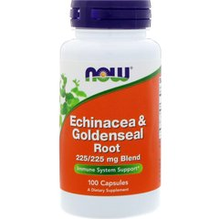 Now Foods NOW-04665 Эхинацея (Echinacea), Now Foods, 100 капсул, (NOW-04665)