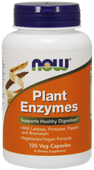 Now Foods NOW-02966 Плант Энзим (Plant Enzymes), Now Foods, ферменты, 120 кап (NOW-02966)