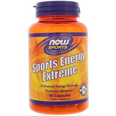 Now Foods NOW-03352 Энергетическая формула, Energy Extreme, Now Foods, Sports, 90 капсул (NOW-03352)