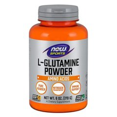 Now Foods NOW-00220 Глютамин в порошке, L-Glutamine Powder, Now Foods, 170 гр (NOW-00220)
