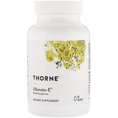 Thorne Research THR-14301 Витамин Е, Thorne Research, 60 капсул, (THR-14301)