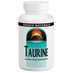 Source Naturals SNS-02068 Таурин, Source Naturals, 1,000 мг, 120 капсул, (SNS-02068)