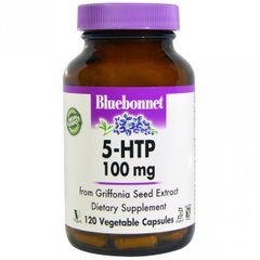Bluebonnet Nutrition BLB-00053 5-HTP (гидрокситриптофан) 100мг, Bluebonnet Nutrition, 120 капсул (BLB-00053)