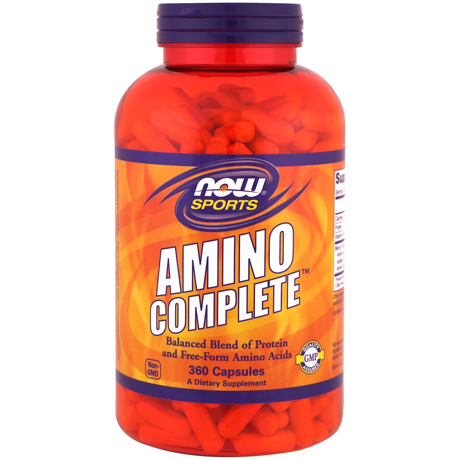 Now Foods NOW-00013 Амино комплекс, Amino Complete, Now Foods, Sports, 360 капсул, (NOW-00013)