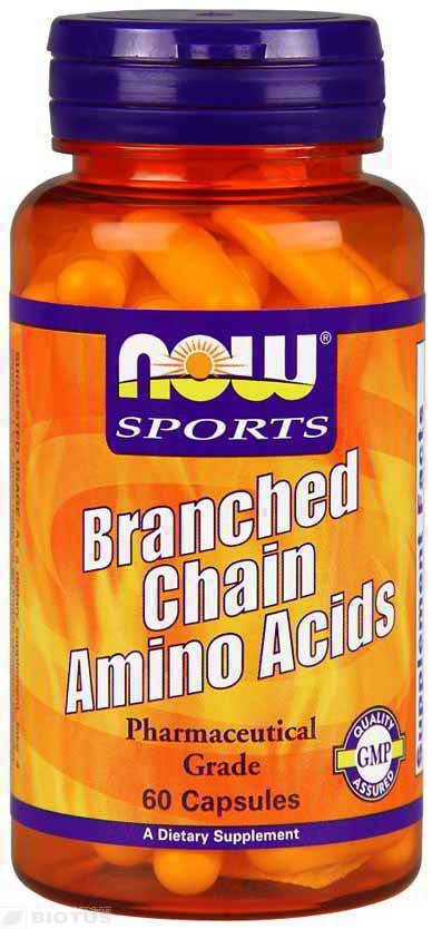 Now Foods NOW-00051 BCAA амино, Branched Chain Amino, Now Foods, Sports, 60 капсул, (NOW-00051)