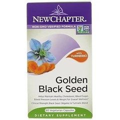 New Chapter NCR-90151 Чорний тим'ян, Golden Black Seed, New Chapter, 30 капсул, (NCR-90151)