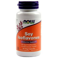 Now Foods NOW-03287 Соевые изофлавоны, Soy Isoflavones, Now Foods, 60 капсул (NOW-03287)