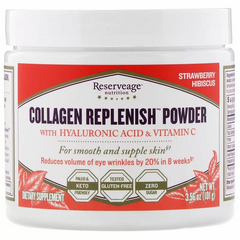 ReserveAge Nutrition REA-00014 Коллаген, Collagen Replenish Powder, ReserveAge Nutrition, 101 г (REA-00014)