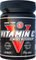 Vansiton VAN-00001 Витамин С с шиповником, Vitamin C with Rose Hips, Vansiton, 120 таблеток (VAN-00001)