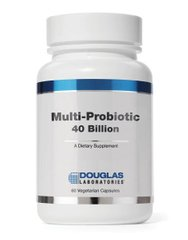 Douglas Laboratories DOU-04055 Поддержка кишечной флоры, Multi-Probiotic, Douglas Laboratories, 40 Billion, 60 капсул (DOU-04055)