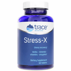 Trace Minerals Research TMR-00098 Стресс-X, защита от стресса, Stress-X, Trace Minerals Research, 60 таблеток (TMR-00098)