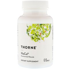 Thorne Research THR-00467 Никотинамид рибозид, Thorne Research, 60 капсул, (THR-00467)