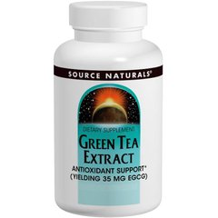Source Naturals SNS-00882 Зеленый чай экстракт (Green Tea Extract), Source Naturals, 60 таб., (SNS-00882)