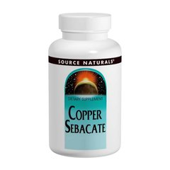 Source Naturals SNS-00884 Медь (Copper Sebacate), Source Naturals, 22мг, 120 таблеток, (SNS-00884)
