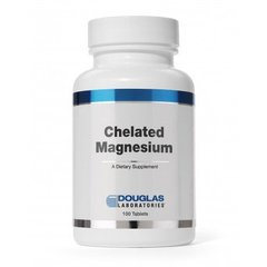 Douglas Laboratories DOU-00605 Хелатный магний, Chelated Magnesium, Douglas Laboratories, 100 таблеток (DOU-00605)